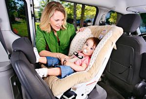 Перевозить ребенка в автомобиле