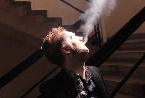 Курение в подъезде жилого дома