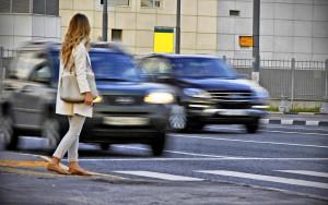 Непропуск пешехода