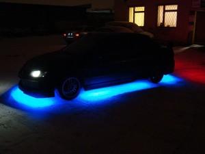 Подсветка днища автомобиля