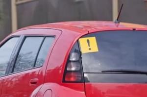 Знак «Начинающий водитель»